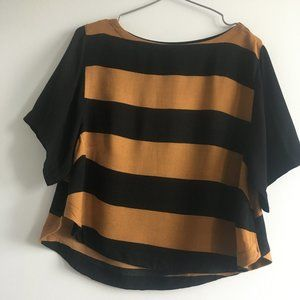 3/$25 H&M Striped Loose Fit Short Sleeve Top 4